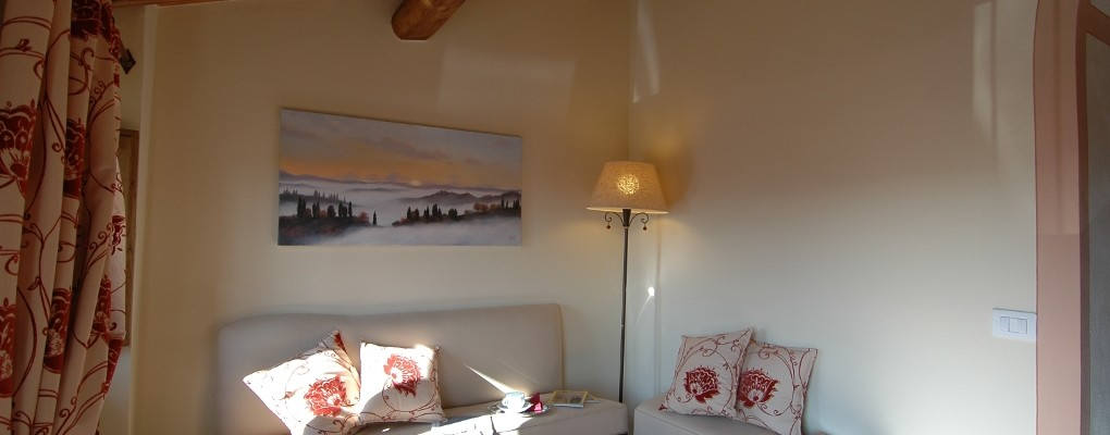 Reading and relax area - Bed & Breakfast Il Cavarchino