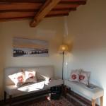 Area lettura e relax - Bed & Breakfast Il Cavarchino