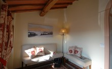 Area lettura e relax - Bed & Breakfast Il Cavarchino