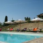 Relax moments in the pool - Bed & Brakfast Il Cavarchino