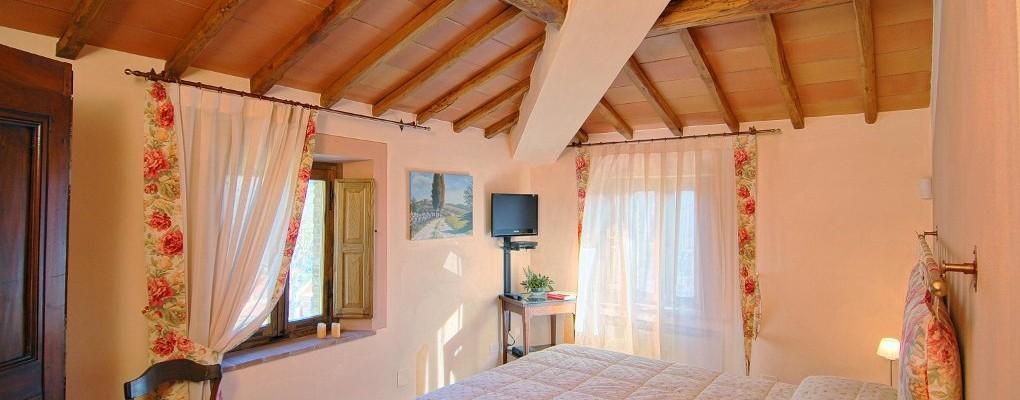 Montegrossi room - Bed & Breakfast Il Cavarchino