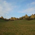 Paesaggio delle balze in Valdarno