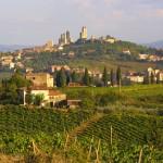 San Gimignano panoramic view