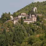 Typical village of the Chianti