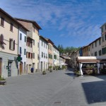 Gaiole in Chianti historic centre