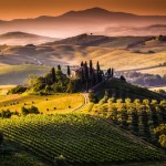 Panoramic view Val d'Orcia